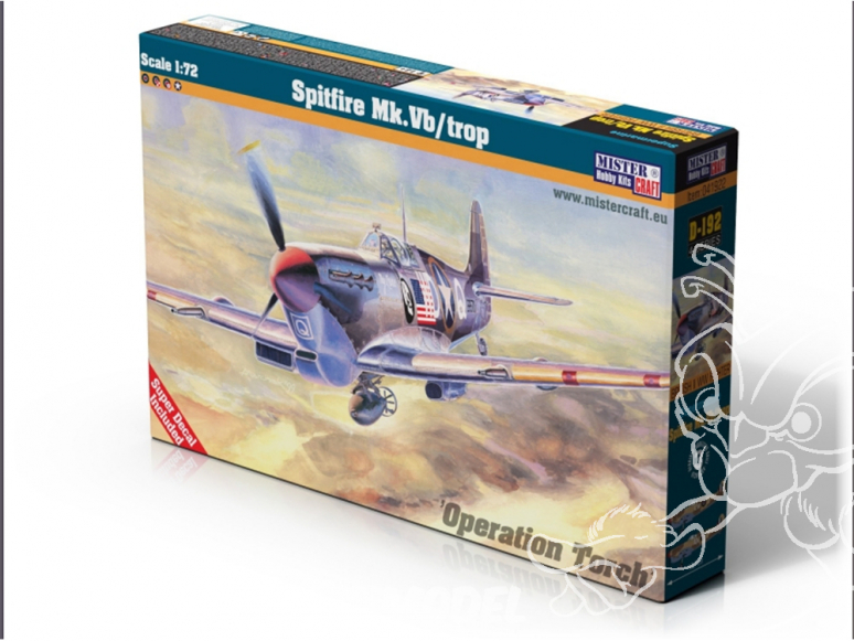 MASTER CRAFT maquette avion 041922 Spitfire Mk. Vb/ trop 1/72