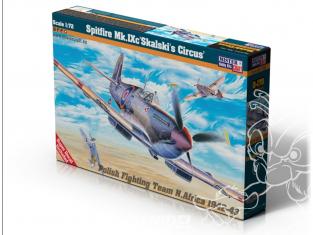 MASTER CRAFT maquette avion 041700 Spitfire Mk.IX Skalski's Circus 1/72