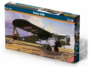 MASTER CRAFT maquette avion 060510 Potez 540 1/72