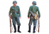 italeri maquette militaire 7407 GERMAN INFANTRYMAN 1/9
