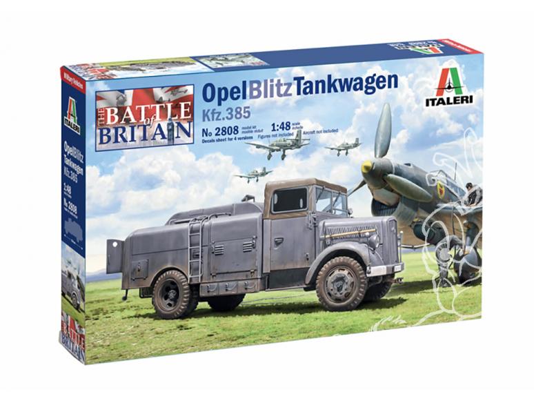 ITALERI maquette militaire 2808 OPEL BLITZ TANKWAGEN Kfz.385 1/48