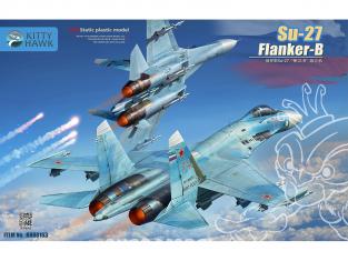 Kitty Hawk maquette avion 80163 Soukhoï Su-27 Flanker-B 1/48