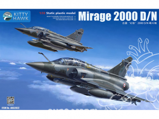 Kitty Hawk maquette avion KH32022 Mirage 2000D/N ARMÉE DE L'AIR FRANÇAISE 2015 1/32