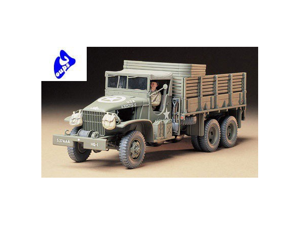 tamiya maquette militaire 35218 cargo truck 6x6 1/35