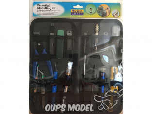 ModelCraft PTK1022 Ensemble d'outils essentiel de modéliste pour plastique