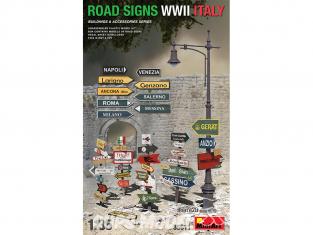 Mini Art maquette militaire 35611 Panneaux indicateurs de route ITALIE WWII 1/35