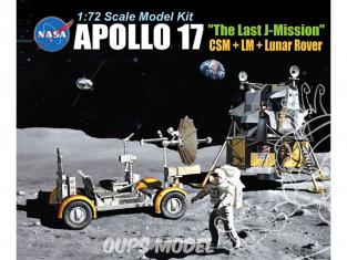 Dragon espace 11015 Diorama Lunaire Apollo 17 1/72