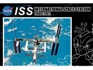 Dragon espace 11024 Station spatiale internationale SSIphase 2007 1/400
