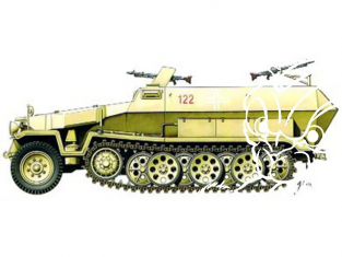Armourfast maquette militaire 99019 SdKfz 251/1 1/72