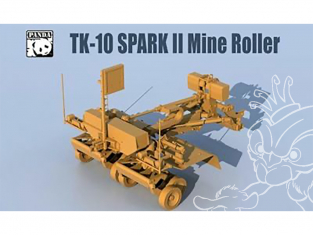 Panda Hobby maquette militaire TK10 Spark II Mine Roller 1/35