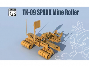 Panda Hobby maquette militaire TK09 Spark Mine Roller 1/35