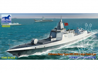 BRONCO maquette bateau nb 5055 Destroyer Marine Chinoise Type 055 DDG 1/350