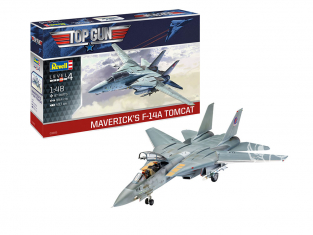 Revell kit avion 03865 Maverick's F-14A Tomcat 'Top Gun' 1/48