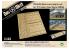 DAS WERK maquette militaire DWA019 Ensemble de planches en bois véritable pour 5t Einheitsanhänger 1/35