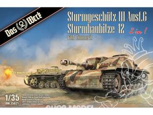 DAS WERK maquette militaire DW35021 StuG III Ausf.G / StuH 42 1/35