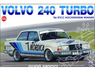 NuNu maquette voiture de Piste PN24013 Volvo 240 Turbo 1986 ETCC Hockenheim Vainqueur 1/24