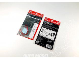 NuNu kit d'amelioration pour maquette de voiture NE24007 Rancha Delta S4 '86 San Remorary Detail Up Parts 1/24