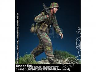 Rado miniatures figurines RDM35032 Sous le feu - SS-Schütze 12. SS Pz.Div. HJ Normandie 1944 1/35