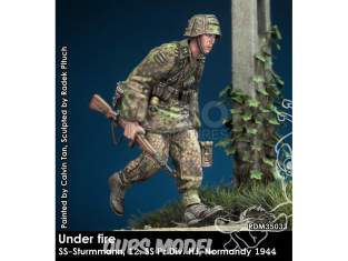 Rado miniatures figurines RDM35033 Sous le feu - SS-Sturmmann 12. SS Pz.Div. HJ Normandie 1944 1/35