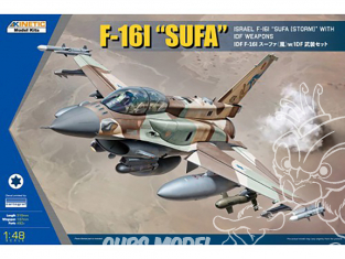 Kinetic maquette avion K48085 F-16I SUFA 1/48