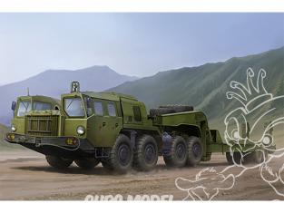 TRUMPETER maquette militaire 01056 Tracteur MAZ-7410 avec remorque CHMZAP-5247G 1/35