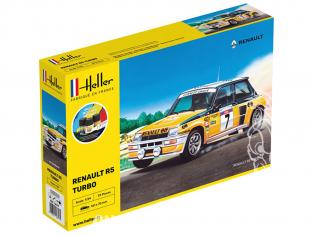 HELLER maquette voiture 56717 Starter Set Renault R5 Turbo 1/24