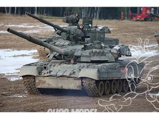 TRUMPETER maquette militaire 09579 T-80UE-1 MBT Russe 1/35