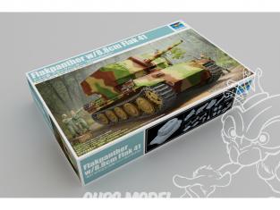 TRUMPETER maquette militaire 09530 Flakpanther avec canon de 8.8cm Flak 41 1/35