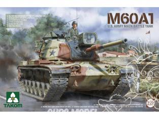 Takom maquette militaire 2132 M60A1 U.S. Army Char de combat principal 1/35