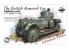 Warslug maquette militaire 1901 La voiture blindée Britannique 1/35