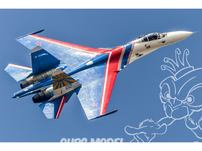 "Hobby Boss maquette avion 81776 Su-27 ""Flanker"" B Fighter Russe 1/48"
