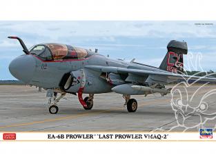 Hasegawa maquette avion 02335 EA-6B Prowler «Last Prowler VMAQ-2» 1/72