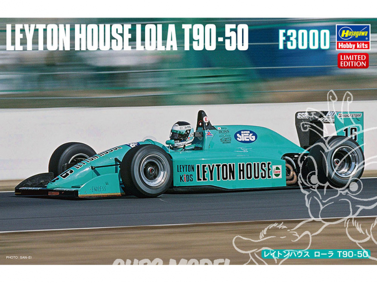 Hasegawa maquette voiture 20452 Leyton House Laura T90-50 F3000 1/24