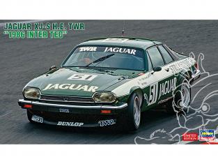 Hasegawa maquette voiture 20444 Jaguar XJ-S H.E. TWR «1986 Inter TEC» 1/24