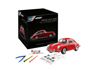 Revell kit 01029 Calendrier de l'Avent Porsche 356 1/16