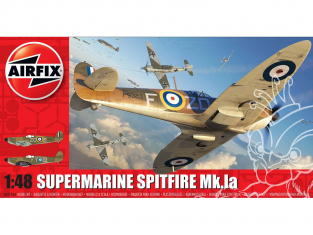 Airfix maquette avion A05126A Supermarine Spitfire Mk.1a 1/48