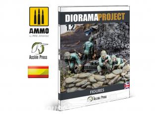 MIG librairie EURO0030 Diorama Project 1.2 - Figurines WWII en langue Castellane