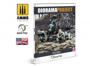 MIG librairie EURO0029 Diorama Project 1.2 - Figures WWII en Anglais