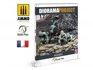 MIG librairie EURO0031 Diorama Project 1.2 - Figurines WWII en Français