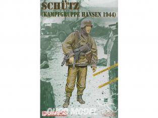 Dragon maquette militaire 1623 Schutz Kampfgruppe Hansen 1944 1/16