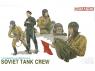 dragon maquette militaire 3010 Equipage de char sovietique 1/35