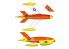 Plus Model maquette avion AL7036 KDA-1 Firebee 1/72