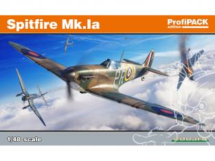 EDUARD maquette avion 82151 Spitfire Mk.Ia ProfiPack Edition 1/48