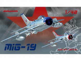 EDUARD maquette avion 11141 MiG-19 Edition Limitée 1/48