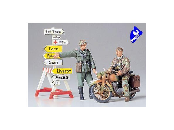 tamiya maquette militaire 35241 DKW NZ350 1/35