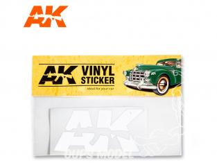 Ak Interactive AK9094 Sticker vinyle Blanc