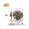 Ak Interactive livre AK8150 FAQ Dioramas 1.3 Histoire - Composition et Planification en Anglais par Marijn Van Gils