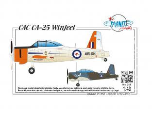 Planet Model PLT259 CAC CA-25 Vinjeel full resine kit 1/48