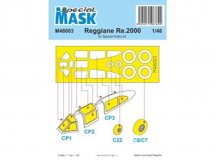 Special Hobby Masque avion M48003 Reggiane Re 2000 pour kit special hobby 1/48