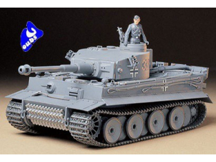 tamiya maquette militaire 35216 tigre I 1/35